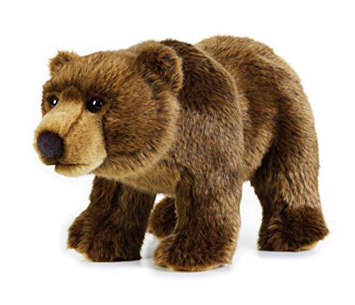 National Geographic- Grizzly Bär Peluche, Color marrón (9770740)