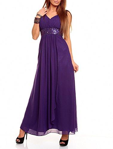 astrapahl Br09111ap, Robe Femme Violet - Lavande