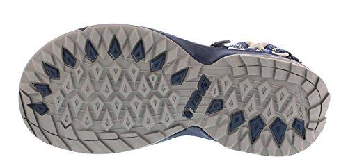 Teva Herren Terra Fi Lite M's Sandalen Trekking-& Wanderschuhe, Blau (Geometric Blue 913), EU 43 -