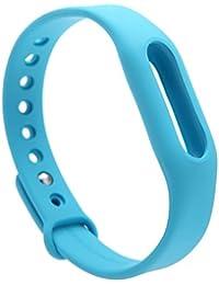 Xiaomi Tpsiv - Correa de recambio para pulsera MiBand, azul