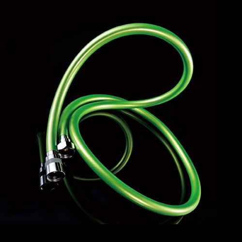 TOP tubo flessibile per doccia PVC di alta qualità, verde, 2 m