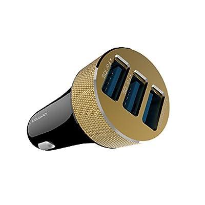 Betron C50 Premium 3 USB Port Car Charger for iPhone, iPad, iPod, Samsung, Nokia, Motorola, HTC etc