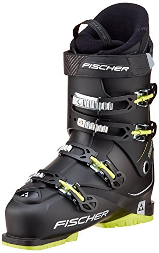 Fischer Herren Cruzar X 8.5 Thermoshape Skischuhe, Black/Yellow, 30.0