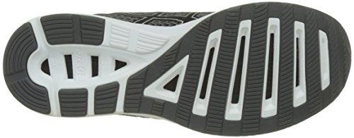 Asics Fuzex Lyte 2, Chaussures de Running Homme Noir Black/Silver/White  Concepteur Sexy Sport Faux Pas Cher Visite De La Chine Authentique