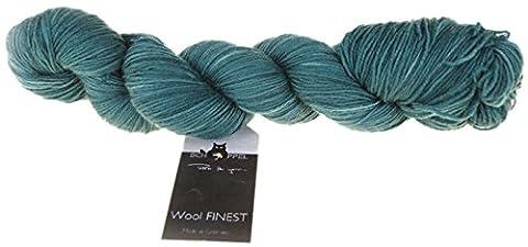 Schoppel-Wolle Wool Finest - Hats Off, Sea Green