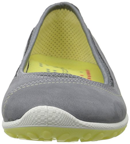 Ecco Biom Lite, Chaussures Bébé Marche Femme Gris - Grau (TITANIUM/TITANIUM/POPCORN59504)