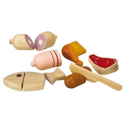 PlanToys 1353457 - Alimentos en madera Importado de Alemania