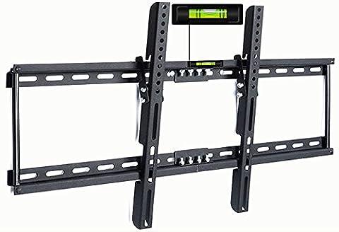 DEUBA®TV Wandhalterung für LCD LED Plasma Wandhalter neigbar bis 65 Zoll 120 kg max VESA 700x400 mm
