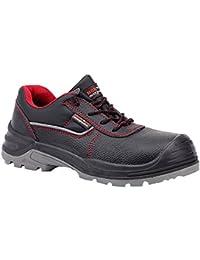 Paredes sm5041ne44Optimal–Zapatos de seguridad S3talla 44NEGRO/ROJO