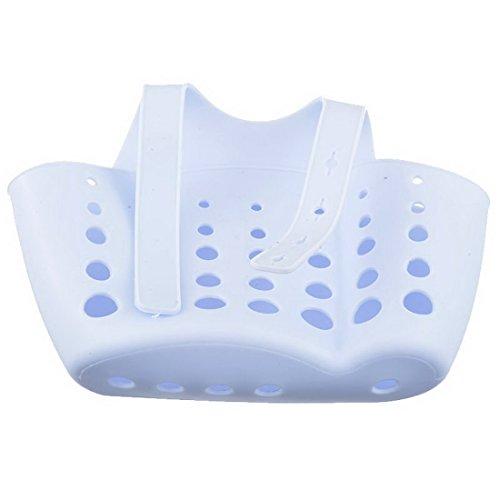 rainbabe 2Fächer Kunststoff Korb Haning Aufbewahrung Spüle Ablauf Halterung für Badezimmer Küche