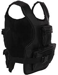 ScSPORTS / 1220072 Veste lestée 10 kg Noir