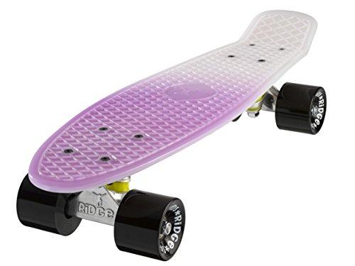 "Ridge Hyperlight 22\"" Mini Cruiser Skateboard, Schwarz"
