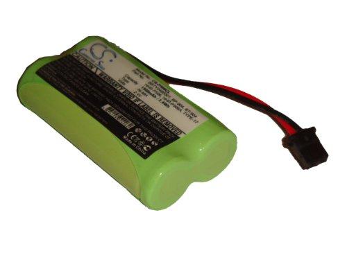 vhbw NiMH Batteria 1500mAh (2.4V) per Telefono fisso cordless Radio Shack 23-9096, 43-3533, et 3533, Uniden BP904, BT904, CEZAi2998DCX150, EXP370