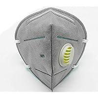 TourKing 20pcs PM 2.5 Schutz Gaze Maske Aktivkohle Atemventil Maske Wiederverwendbare Atemschutzmaske Anti Staub... preisvergleich bei billige-tabletten.eu