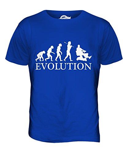 CandyMix Elektromobil Evolution Des Menschen Herren T Shirt Königsblau