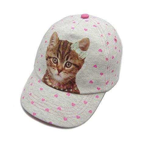 Mädchen-Baseballmütze scherzt Sun-Hüte Strand-Hüte im netten Katzen-Muster