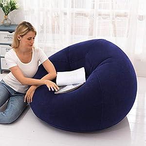 gaeruite aufblasbarer Sitzsack-Stuhl, aufblasbares Stuhl-Sofa, aufblasbares faules Couch-Bohnen-Form-aufblasbares Sofa…