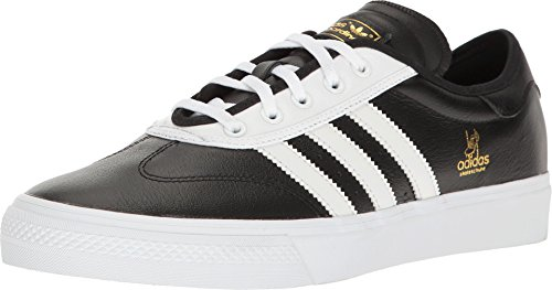 adidas Adi-Ease Premiere ADV X Official Skate Shoes (9.0 D(M) US Mens, Black/White/Gold Metallic) - Limited Edition Skate Schuh
