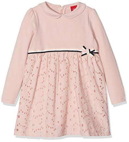 s.Oliver Baby-Mädchen Kleid 59.811.82.5511, Rosa (Light Rose 4058), 74