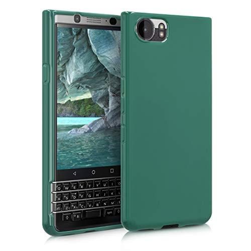 kwmobile BlackBerry KEYone (Key1) Hülle - Handyhülle für BlackBerry KEYone (Key1) - Handy Case in Dunkelgrün matt