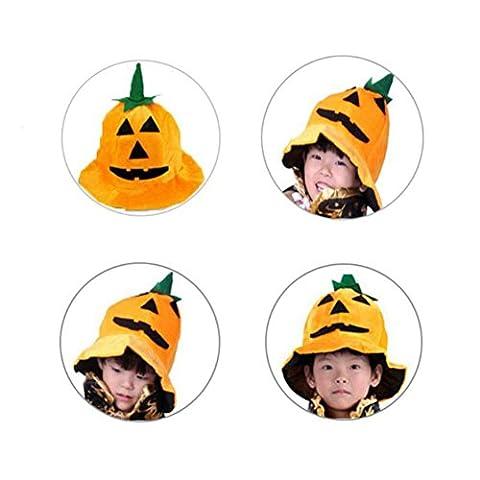 Bornbay Halloween Hexe Umhang Mädchen Kürbiskappe oder Jungen Kind Umhang Kinder Kostüm (Baby-kürbis-kostüm Uk)