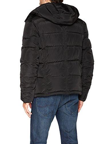 Wrangler Herren Jacke Protector Jacket Schwarz (Black 01)