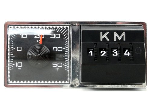 KFZ Thermometer Kilometerzähler KM Kombination