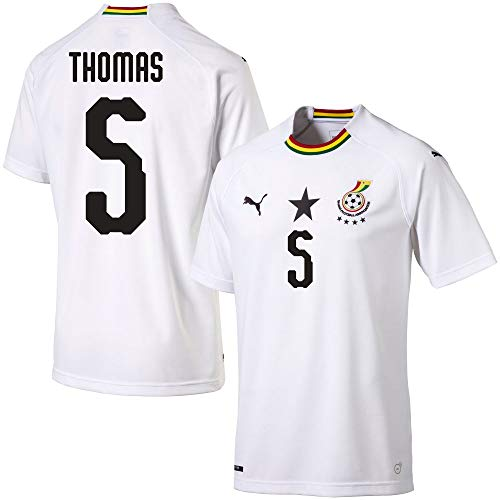 Ghana Away Trikot 2018 2019 + Thomas 5 (Fan Style) - M