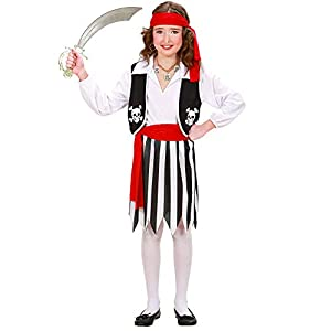 WIDMANN Widman - Disfraz de pirata para niño, talla 8-10 años (2637)