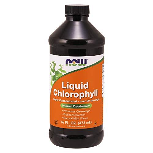 Now Foods, flüssiges Chlorophyll (dreifache Stärke), 473ml (Akne Kleidung)