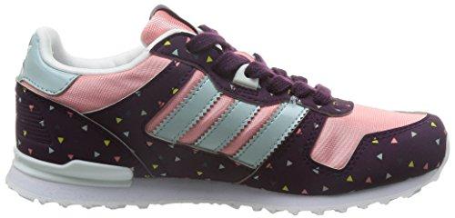 adidas Zx 700, Sneakers Basses mixte enfant Rosa / Morado / Beige