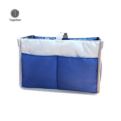 Togather® Multi-funzione Nylon bambino passeggino carrozzina passeggino appeso Storage Bag / pannolino borsa Inserisci passeggino organizzatore / Cosmetic Toiletry Bag / trucco custodia / borsa ordinata di viaggio