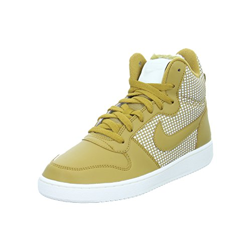 Nike Damen WMNS Court Borough Mid Se Sneaker, Mehrfarbig (Wheat-Sail 700), 38 EU