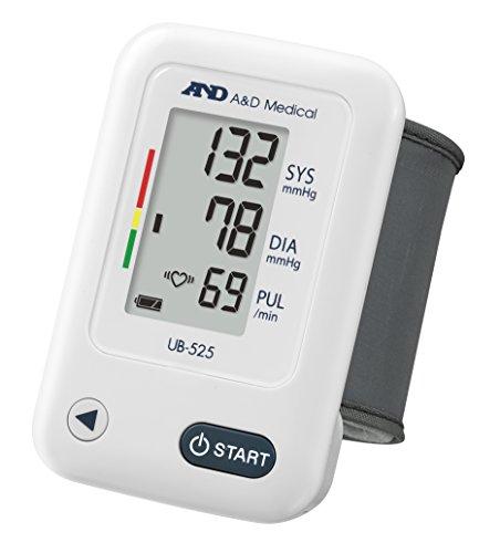 A&D Medical UB-525 Misuratore di Pressione da Polso, Validato Clinicamente