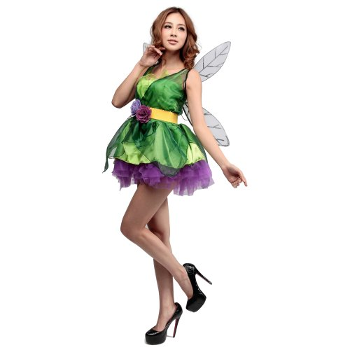 Imagen de m&a disfraz costume cosplay halloween navidad carnaval fiesta para mujer elfo reina princesa alternativa