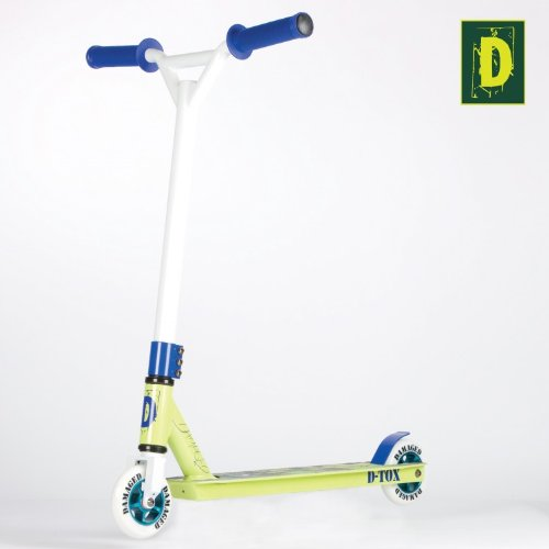 Damaged D-Tox Stunt Scooter 2 Farben, Farbe:lime