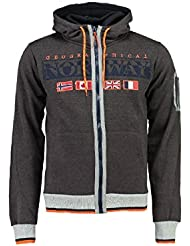 Geographical Norway - Sweat à capuche Enfant Geographical Norway Gunit Gris