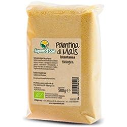 BIO Polenta De Maíz Instantanéa Organica - 2 x 500 g - Producto Italiano 100%