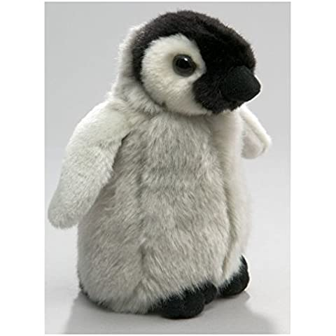 Peluche - Pingüino del bebé de pie (felpa, 19cm) [Juguete]
