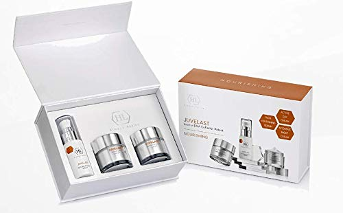 HL Juvelast Kit (Nourishing Serum 30ml, Active Day Cream 50ml, Intensive Night Cream 50ml) - Intensive Nourishing Day Cream