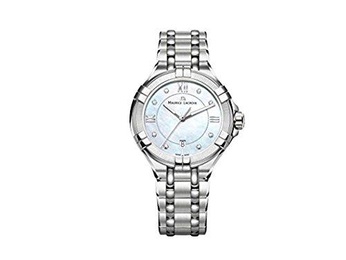 Maurice Lacroix AIKON AI1004-SS002-170-1 Reloj de Pulsera para mujeres Fabricado en Suiza