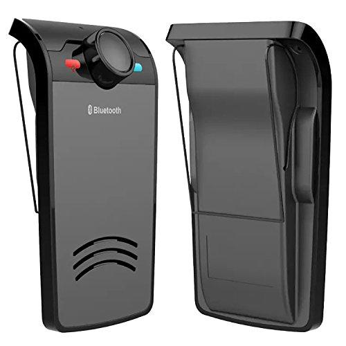 Wireless Bluetooth Freisprecheinrichtung Car Kit Hands Free-Sonnenblende Clip für Samsung Galaxy S6 S6 Rand IOS Smartphone