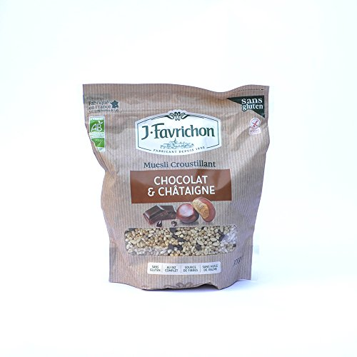Favrichon - Muesli chocolat et chataigne 375G