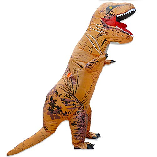 Mouchao Lustiges aufblasbares Tierdinosaurier-Partei Cosplay Blowup-Kostüm für erwachsenes Kind