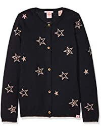 Scotch & Soda Cardigan with Allover Star Intarsia, Chaqueta Punto para Niñas