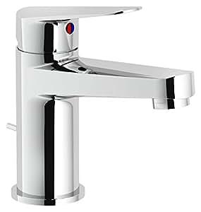 Nobili Rubinetterie bse101118/1CR Mitigeur lavabo avec vidage