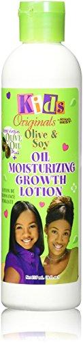 Africa's Best Kids Organics - Lotion de croissance hydratante - A l'huile d'olive et de soja - 235 ml