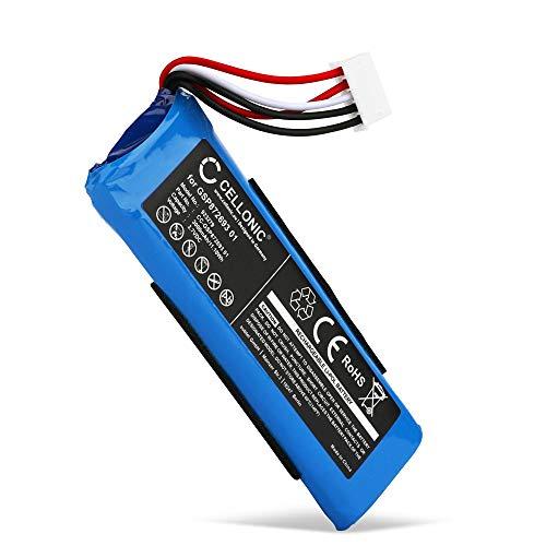 CELLONIC® Batería Premium Compatible con JBL Flip 4, Flip 4 Special Edition, GSP872693 01 3000mAh bateria Repuesto Pila