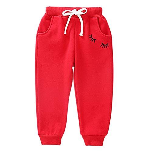 URMAGIC Bébé Garçon Enfant Fille élastique Coton Pantalon Chaud Enfants Jogging Sports Pantalons 2-8 Ans