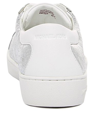 MICHAEL by Michael Kors Frankie Sneaker Argento Donna Argento